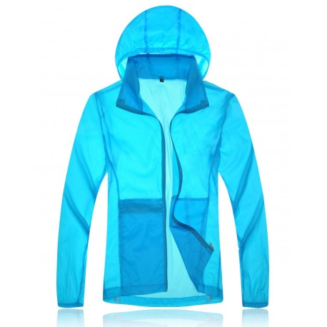 Light Breathable Skin Jacket by Outdoors Experts (mixte)