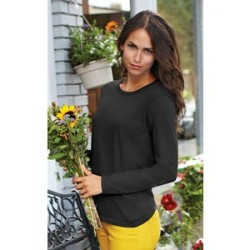 Gildan Heavy Cotton Missy Fit Long Sleeve T-Shirt (woman)