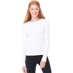 Bella + Canvas Crew Neck Rib T-Shirt (woman)