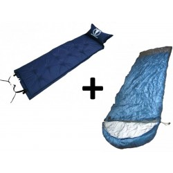 Pack : Mattress + Xenith Sleeping bag -5°C