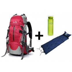 Pack Outlander backpack Adventure II 45+5 + Mattress + Bottle