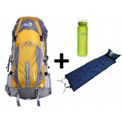 Pack Outlander backpack Capacity 50+5 + Mattress + Bottle