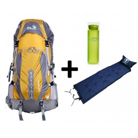Pack Outlander backpack Capacity 50+5 + Mattress + Bottle
