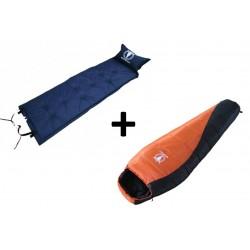 Paack -10°C Sleeping bag + Mattress