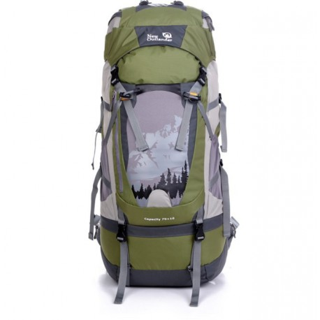 Outlander trekking backpack Capacity 70 + 10