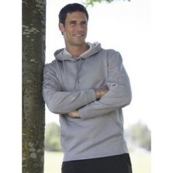 The Authentic T-Shirt Company PTech Fleece Hooded Sweatshirt (man)