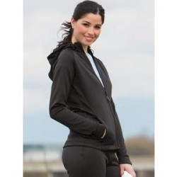 The Authentic T-Shirt Company PTech Fleece Jacket (woman)