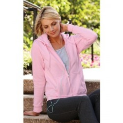 Gildan Junior Fit Full Zip Hoodie (woman)