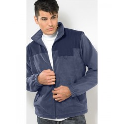Outer Ridge Fleece Jacket with Removable Sleeves (man)