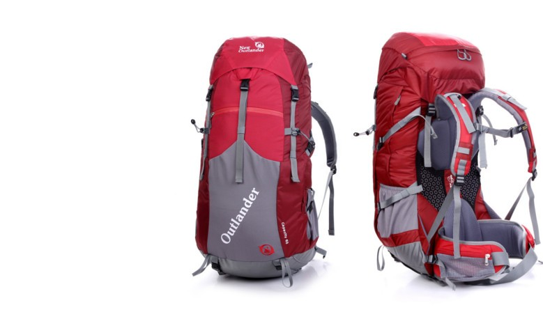 Outlander trekking backpack Capacity 60 + 5
